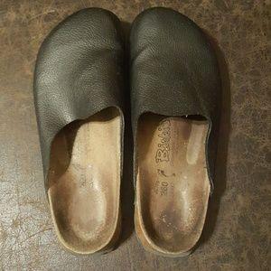 Leather Birkenstock Clog